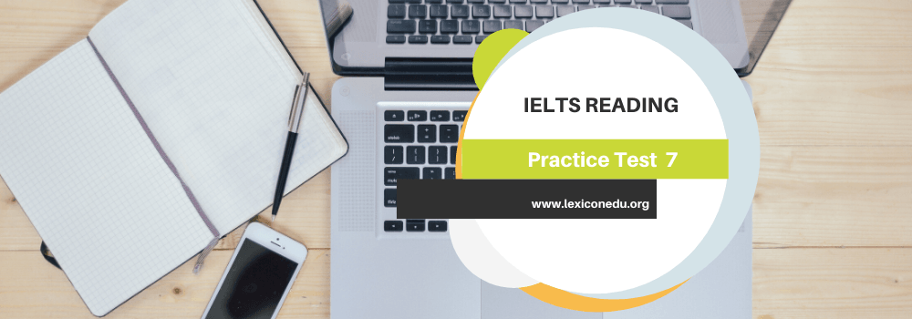 IELTS Reading Practice Test 7